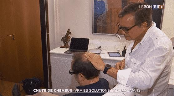 Le Docteur Pierre Bouhanna interviewé sur TF1