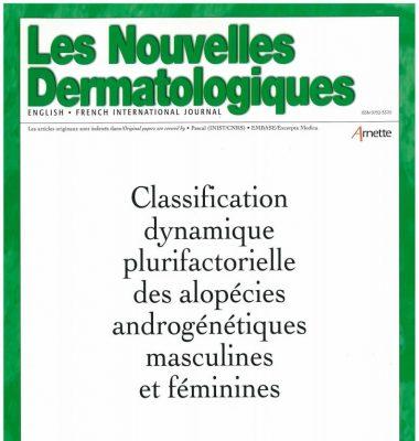 Article scientifique sur la classification dynamique plurifactorielle des alopécies androgénétiques masculines et féminines par le Dr Pierre Bouhanna